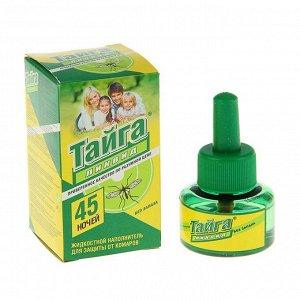 """Дополнительный флакон-жидкость от комаров """"Тайга"""", без запаха, 45 ночей, 30 мл 140287"""