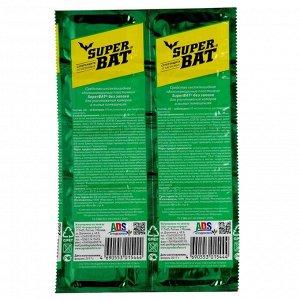 """Пластины от комаров """"Super Bat"""", зелёные, 10 шт"""