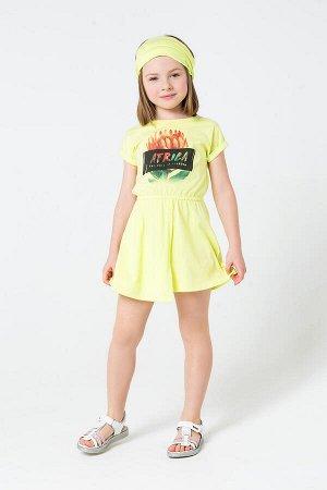 5505 платье/лайм1 к207