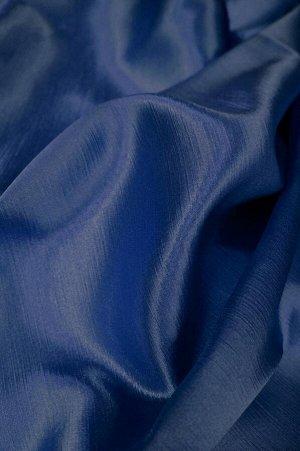 полотно Цена за 1шт ( в стоимость входит: ткань, шт.лента, раскрой+ инд.пошив)  Полотно шир 2.0 х инд. выс в подарок ---пишем высоту шторы в примечании;   --- сатен-берёзка т. синий, атласный глянец;
