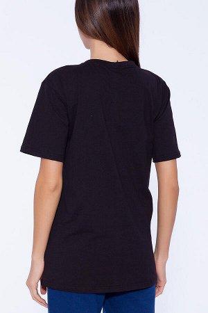 Футболка (Неженка) Черный (одежда от Росс пост)