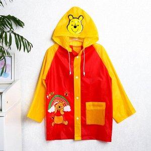 """Дождевик детский """"Pooh"""" Медвежонок Винни, размер L"""