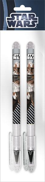 Ручки шариковые, цвет пасты синий, 2 шт.The Clone Wars (Clone wars)