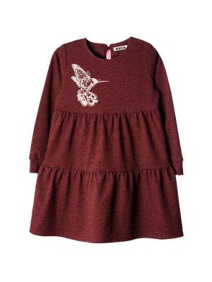 Платье 967А бордовый