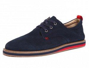 Туфли Современные ботинки из натуральной замши в стиле Casual. Их можно сочетать практически с любой повседневной одеждой, они отлично смотрятся с джинсами и брюками. Детали: текстильная подкладка и с
