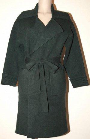 Пальто трикотаж