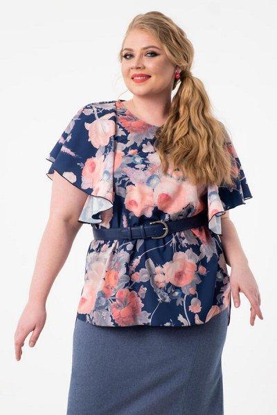 ВИЗЕЛЛ - платья блузы, юбки на все времена! до 62 размера — Блузы plus size — Рубашки и блузы