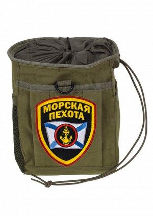 Армейский карман для фляги МОРСКАЯ ПЕХОТА – камуфлированный девайс из ткани с улучшенными защитными характеристиками №25