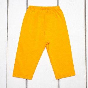 Лосины детские укороченные арт.404-желтый