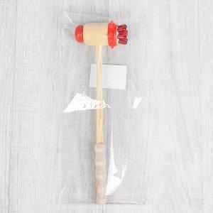 Массажёр-колотушка «Ёжик», универсальный, деревянный