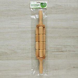 Массажёр для спины «Кукуруза», деревянный