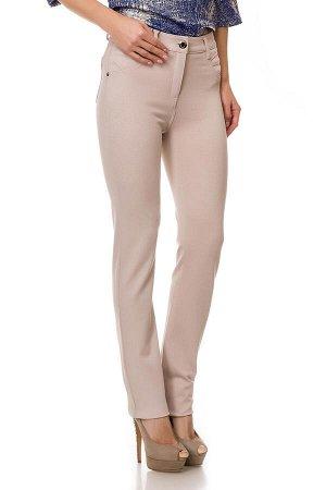 Слегка приуженные бежевые брюки.  SS5320-5*** рр 9(44)