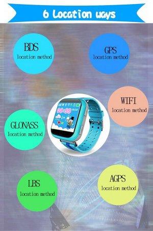 Умные детские часы Smart Baby Watch Q100 (GW200S)