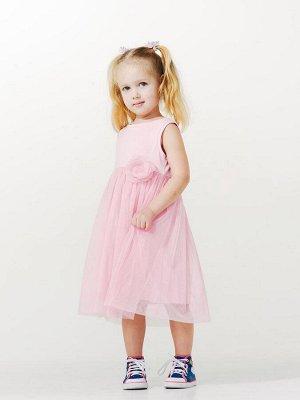 Холодный розовый Сарафан для девочек