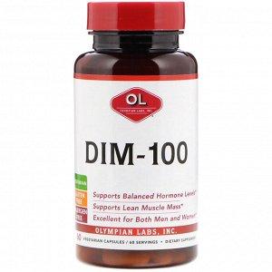 Olympian Labs, DIM-100, 60 вегетарианских капсул