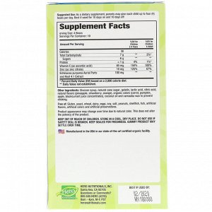 Hero Nutritional Products, Yummi Bears, эхинацея + витамин С + цинк, 40 жевательных мишек