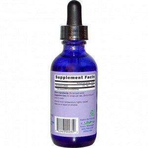 Eidon Mineral Supplements, Ionic Minerals, цинк, жидкий концентрат, 60 мл
