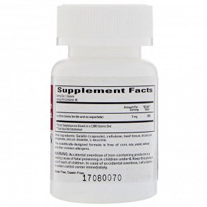 Cardiovascular Research, ферритин, 5 мг, 60 капсул