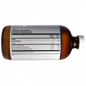 LifeTime Vitamins, Высокоэффективный цитрат кальция и магния, а также витамин D3, черника, 473 мл (16 жидких унций)