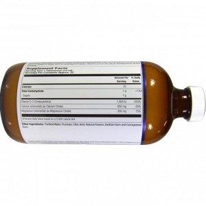 LifeTime Vitamins, Calcium Magnesium Citrate, Plus Vitamin D-3, Orange Vanilla, 16 fl oz (473 ml)