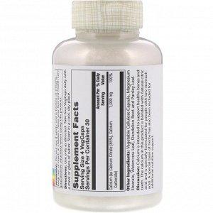 Solaray, Calcium Citrate, 1,000 mg, 120 VegCaps