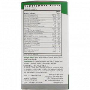 Nature&#x27 - s Answer, Кальций из кораллов, комплекс, 1000 мг, 90 капсул