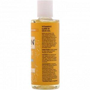 Jason Natural, Масло для кожи с витамином Е , 5000 МЕ, 118 мл (4 жидких унции)
