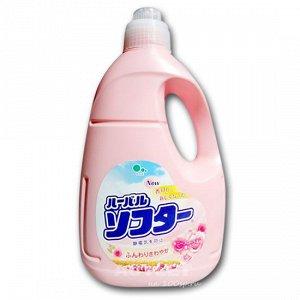 """""""Mitsuei"""" Кондиционер для белья с ароматом белых цветов"""