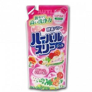 """""""Mitsuei"""" Гель для стирки белья с ароматом роз (мэу)"""