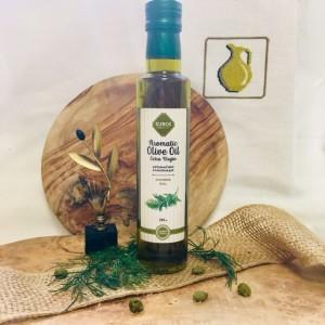 Оливковое масло с укропом, ст.бут., 250мл