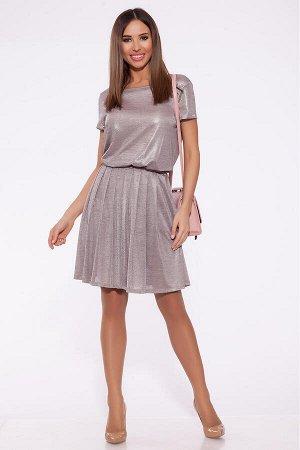 #68232 Платье (ARGENT) Серо-розовый