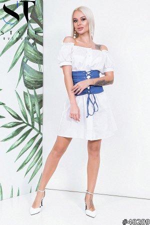 Платье с корсетом 48209