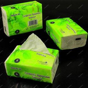 """Салфетки - выдергушки """"Берёзка"""", бумажные 260шт в полиэтиленовой упаковке."""
