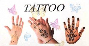 Flash tatoo на ногти и пальцы