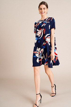 Красивое платье, яркое, сшито хорошо,.