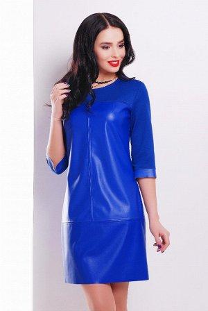Платье 1707 электрик