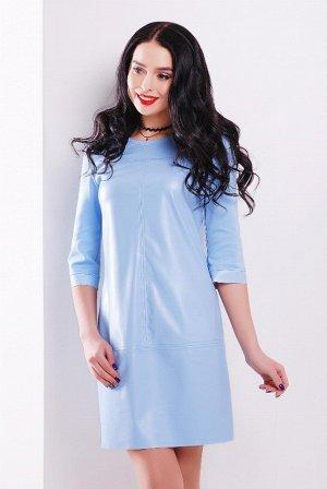 Платье 1707 голубой