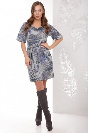 Платье 1765 темно-серый