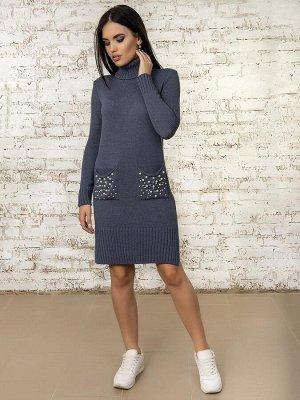 Платье50303(Джинс)