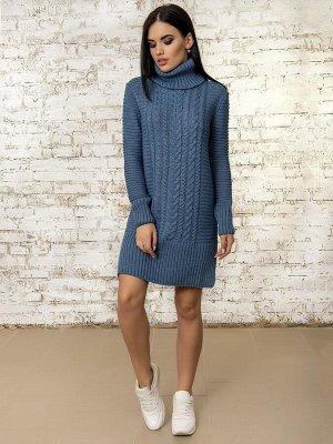 Платье 50295 (Светлый Джинс)