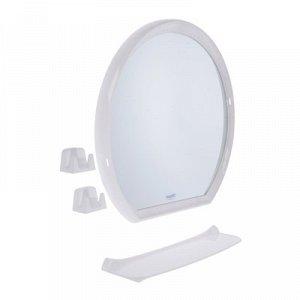 Набор для ванной комнаты Lumi ring, цвет белый