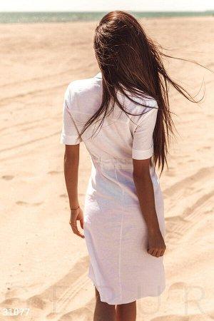 Платье-миди на завязках