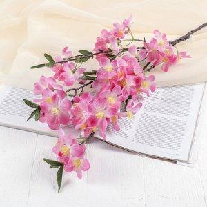 Цветы искусственные Молочай миля6*85 см, малиновый