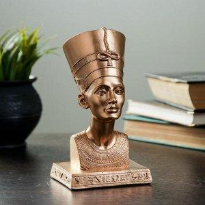 """Фигура """"Нефертити"""" бронза 17см"""