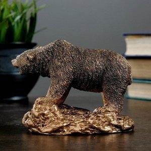 """Фигура """"Медведь хозяин тайги"""" 10?13 бронза"""