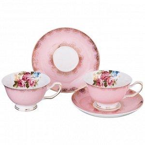 Чайный набор на 2 персоны 4 пр. 200 мл. (кор=12набор.)