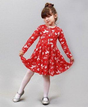 Красное платье для садика