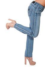 Голубые женские джинсы 4wards. Та модель, которую ты искала. Хлопок + эластан = идеальная посадка по фигурке №122