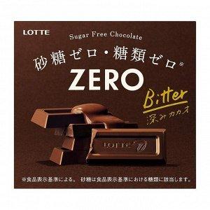 LOTTE Zero - полезный шоколад без сахара