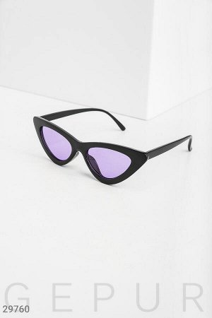 Очки с яркими стеклами